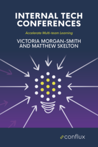 Book Cover: Book: Internal Tech Conferences