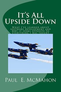 Book Cover: Book: It's all upside down