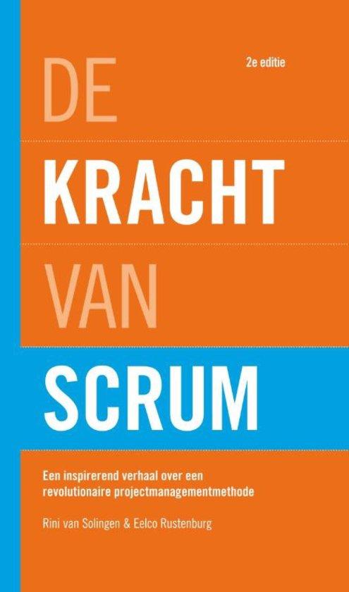 Book Cover: Boek: De kracht van Scrum