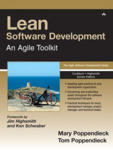 Book Cover: Book: Lean Software Development: An Agile Toolkit