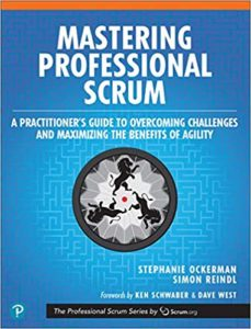 Book Cover: Book: Mastering Professional Scrum