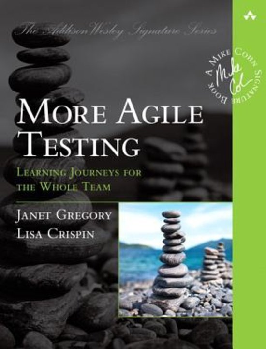 Book Cover: Book: More Agile Testing: Learning Journeys for the Whole Team