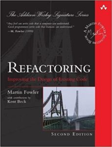 Book Cover: Book: Refactoring