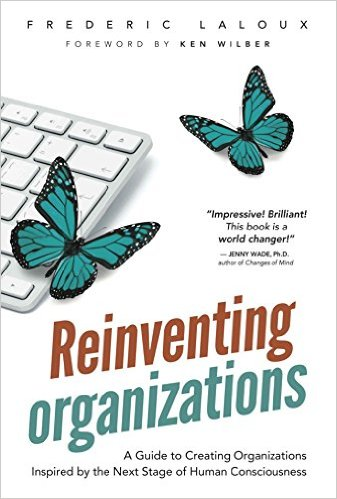 Book Cover: Book: Reinventing Organizations