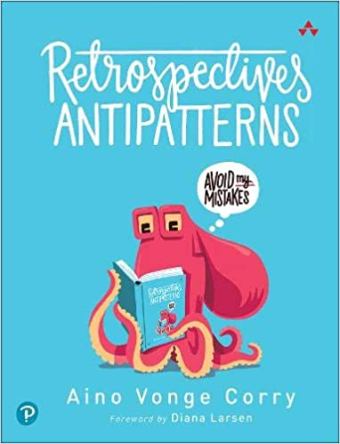 Book Cover: Book: Retrospectives Antipatterns