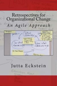 Book Cover: Book: Retrospectives for Organizational Change