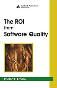 Book Cover: Book: The ROI from Software Quality