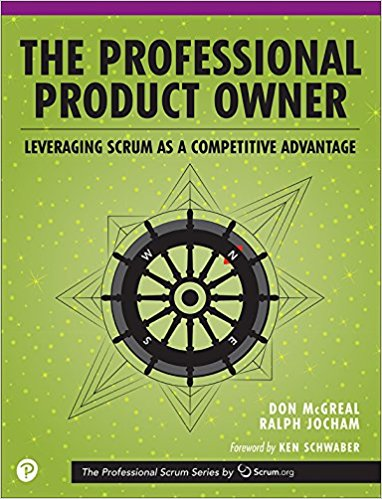Book Cover: Book: The Professional Product Owner