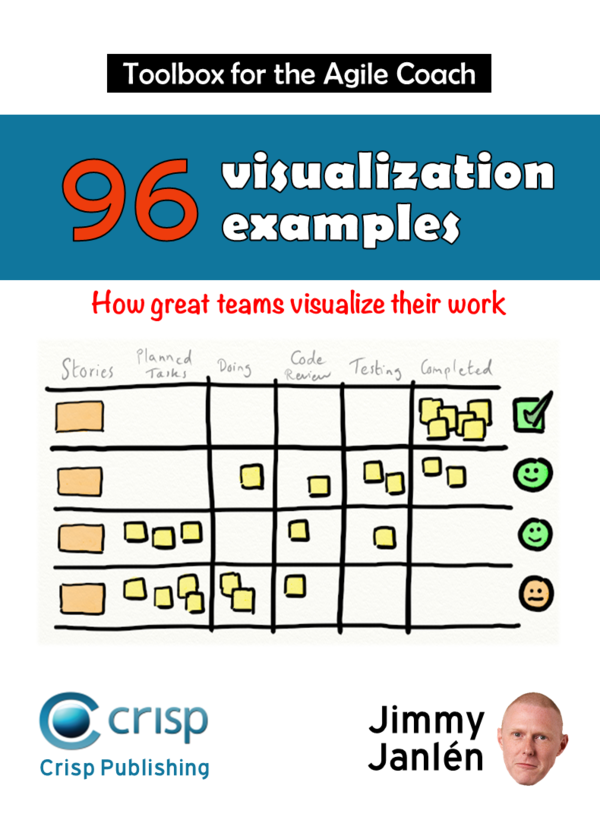 Book Cover: Book: Toolbox for the Agile Coach - Visualization Examples