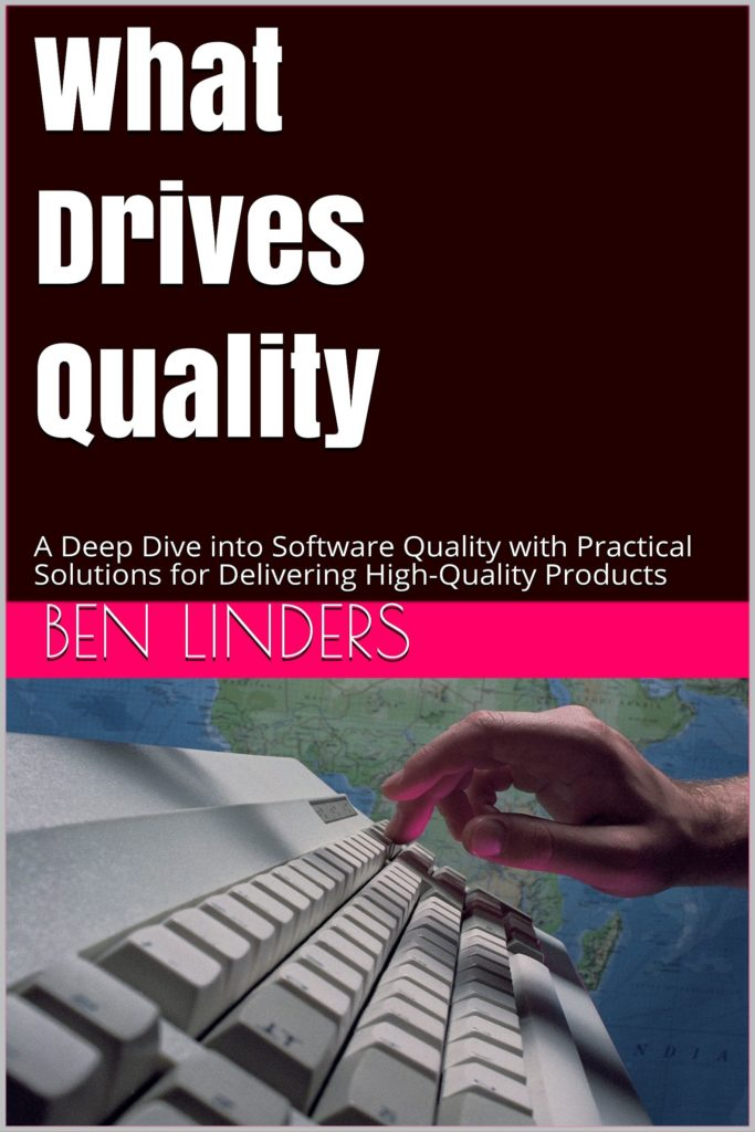 Book Cover: Book: What Drives Quality