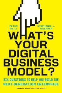 Book Cover: Book: What's Your Digital Business Model?