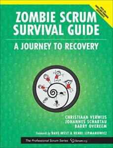 Book Cover: Book: Zombie Scrum Survival Guide