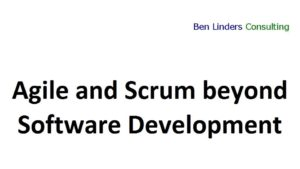 Agile and Scrum beyond Software Development