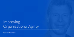Improving Organizational Agility – Virtual course