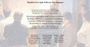 The Agile Manifesto: A new mindset