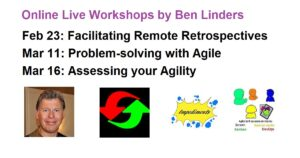 Read more about the article More Agile Workshops in February & March 2021