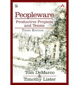 Book Cover: Book: Peopleware: Productive Projects and Teams