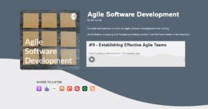 Read more about the article Podcast on Establishing Effective Agile Teams