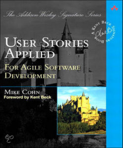 Book Cover: Book: User Stories Applied