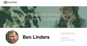Webinar Enhancing quality and testing in agile teams